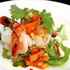 THAI STYLE PRAWNS