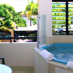 WHIRLPOOL SPA ON BALCONY
