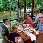 The Daintree Walkabout tour includes lunch at silky oaks