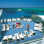 OUTER BARRIER REEF PONTOON TRIP INCLUDED IN GETAWAY PACKAGE