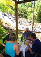 LUNCH BY MUNGALLI FALLS