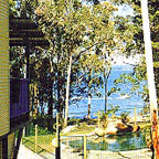 VIEWS TO LAKE TINAROO FROM PRIVATE DECKS