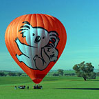 Ballonning on the Atherton Tablelands