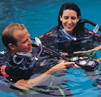 COMPLETE OPEN WATER TRAINING DIVES