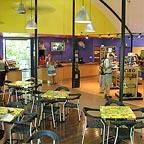 reception, gift shop & cafe