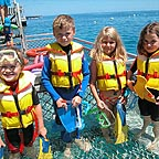 VISITNG THE REEF IS FUN FOR KIDS