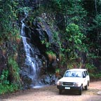 driving to the daintree