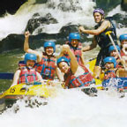 WHITE WATER RAFTING ON THE TULLY