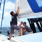 OPTIONAL HANDS ON SAILING