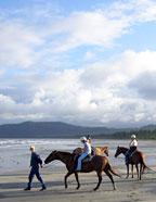 HORSE RIDING ON WONGA BEACH