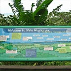 INFO BOARD AT ALEXANDRA RANGE LOOKOUT