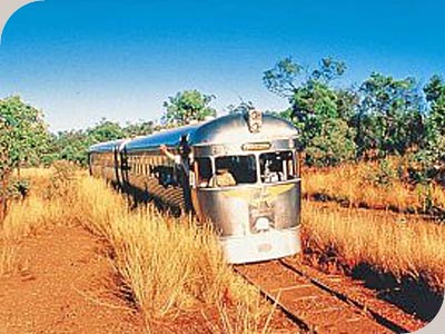 2 Day Outback & Rail -
