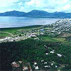view of cairns city from the red arrow walk