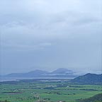 a rainy day in cairns - seen from the kuranda lookout