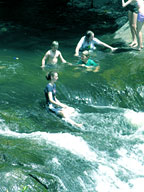 COOL DOWN AT CRYSTAL CASCADES