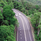 KURANDA IS A 20 MINUTE DRIVE UP THE RANGE FROM CAIRNS