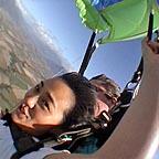 Phew! Parachute opens