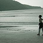 WALKING ON CAPE TRIB BEACH