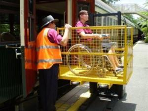 kuranda scenic rail wheelchair access