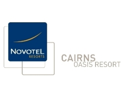 Novotel Cairns Oasis Resort logo