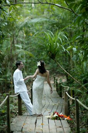 Wedding at Daintree Eco Lodge