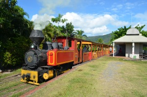 Bally Hooley Steam Train Port Douglas