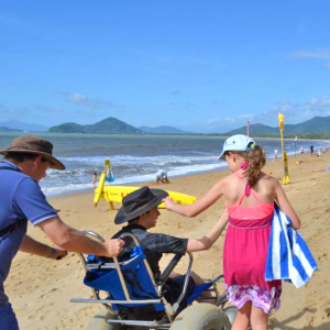 Palm cove Beach wheelchair