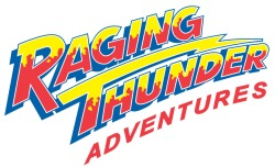 Raging Thunder Adventures logo