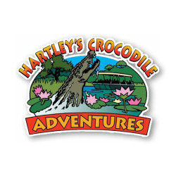 Hartley's Crocodile Adventures logo